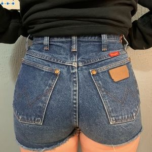 Cutest Wrangler Shorts!